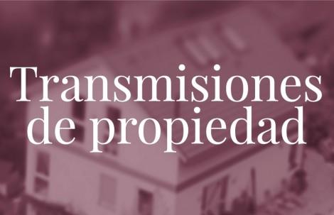 Transmisiones de propiedad